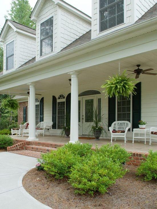 Concrete Front Porch Steps Designs Cool Looking Brick Front Porch | House Front Step Design | Aspen Designer Home | Simple | Mansion | Curved | Entrance Home