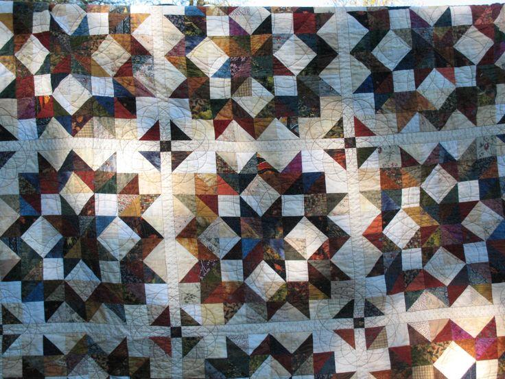 Pattern Carpenters Quilt Wheel Block