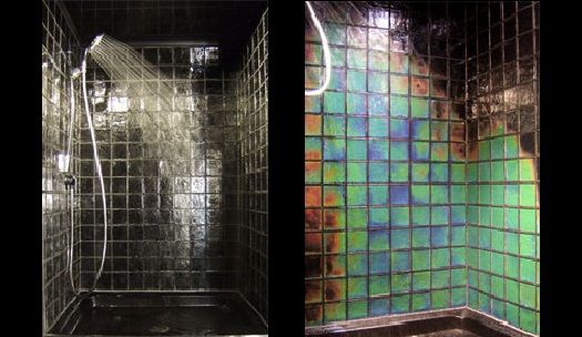 Northern Lights Heat Sensitive Tile