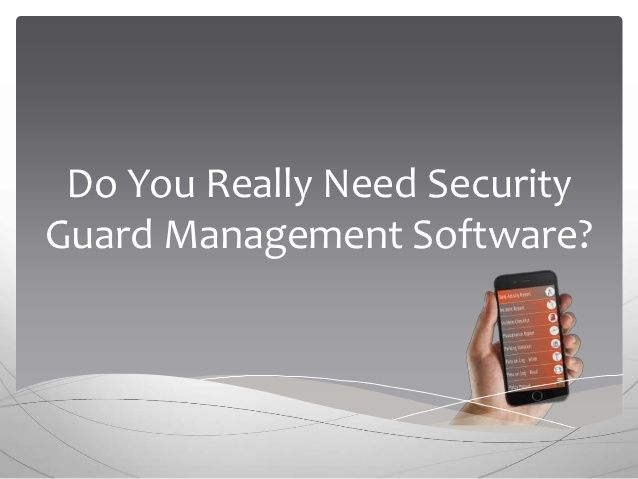 I Need Security Guard Job