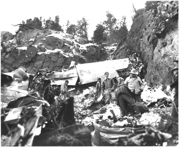 Carole Lombard Plane Crash Body
