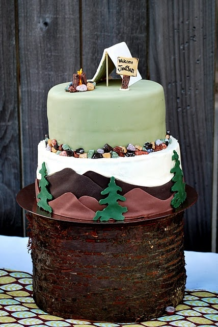 57 Best Images About Hiking Cakes Ideas On Pinterest
