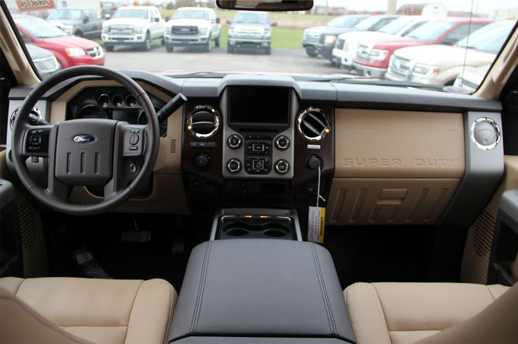 2015 Ford F 250 Interior Adobe Leather Ford Pinterest