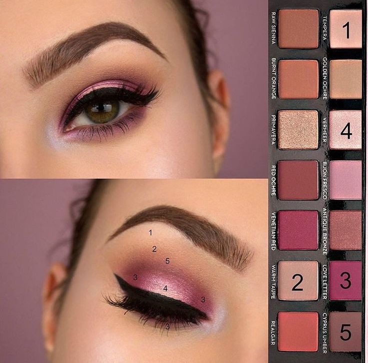 Types Of Eye Makeup Pictorial