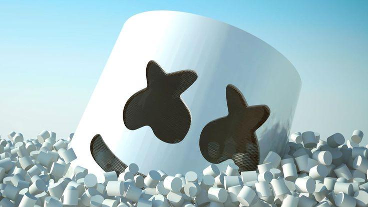 Background Marshmallow Dj