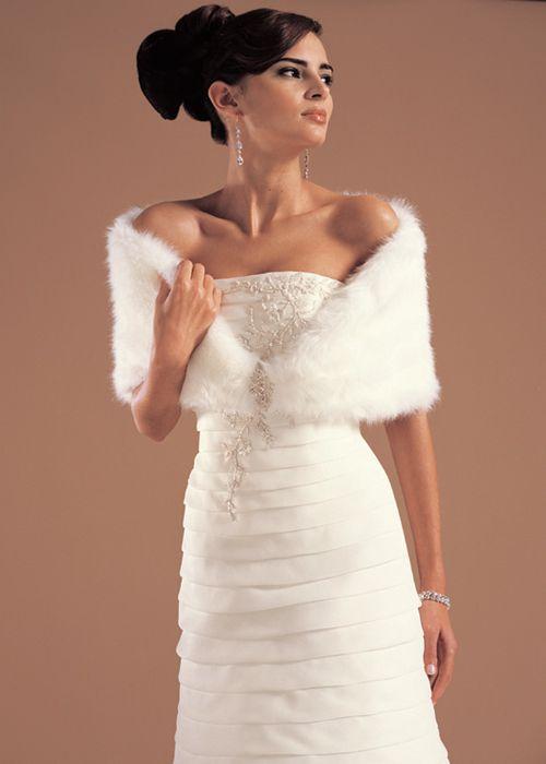 Dress Afternoon Winter Wedding