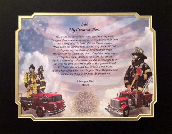 firefighters daughter poem