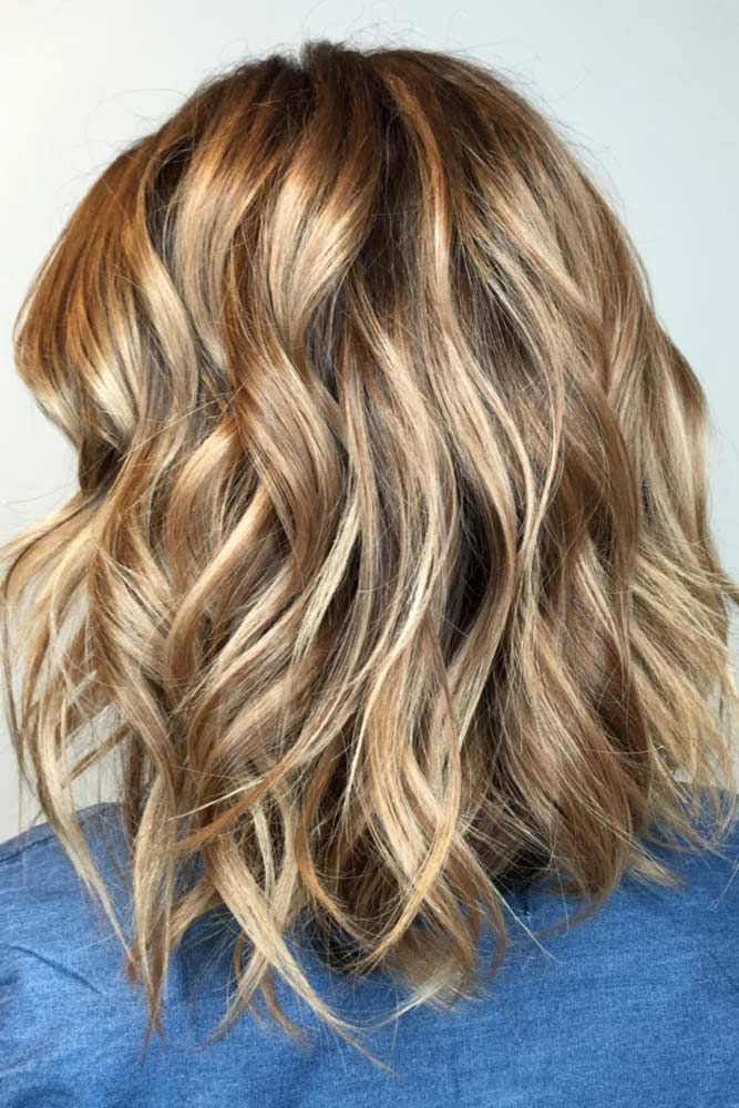 Color Highlights Light Brown Hair