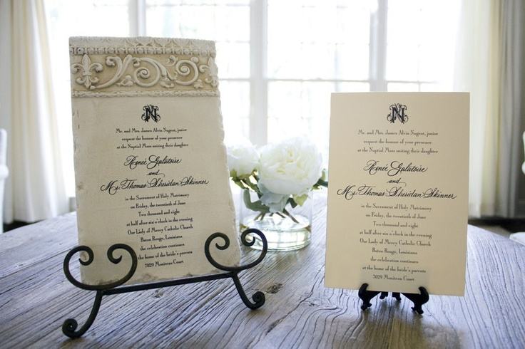 Custom Invitations Baton Rouge