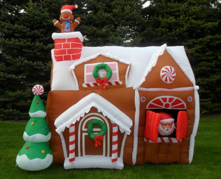 Nib Gemmy 8 5ft Christmas Animated Airblown Inflatable