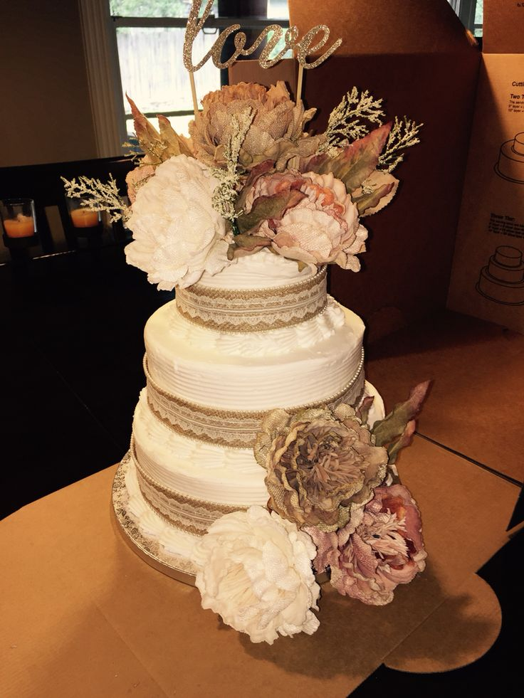 Beautiful Cake So Cheep And Easy Sam S Club Cake And Flowers From Michael S No Reason To