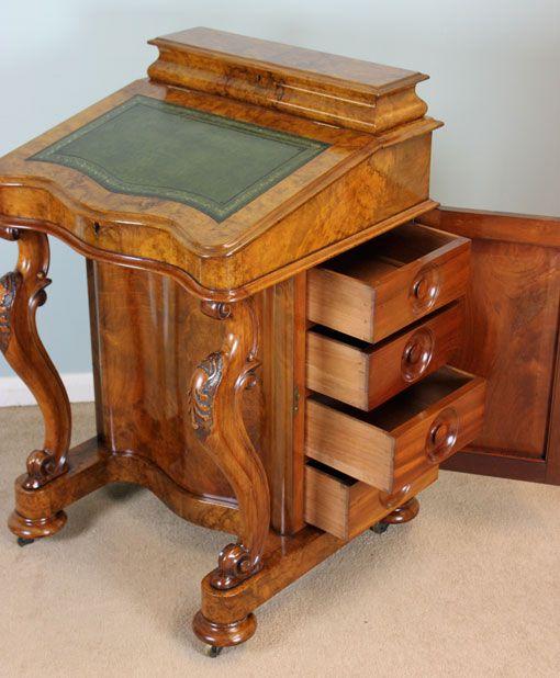 Writing Desks Secret Compartments