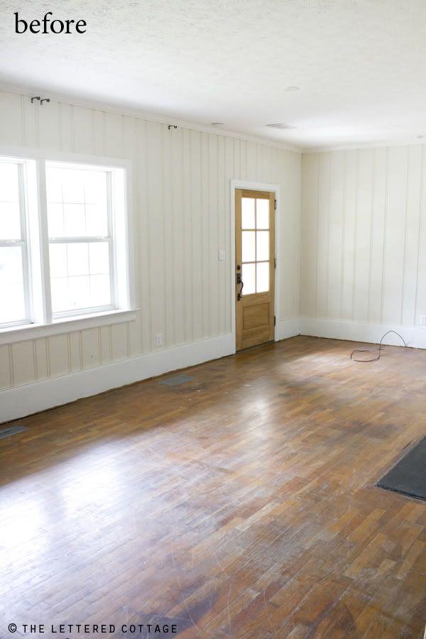 Floors Painting Hardwood Room