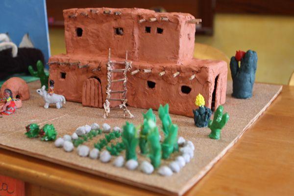 Desert Houses Decoration Ideas