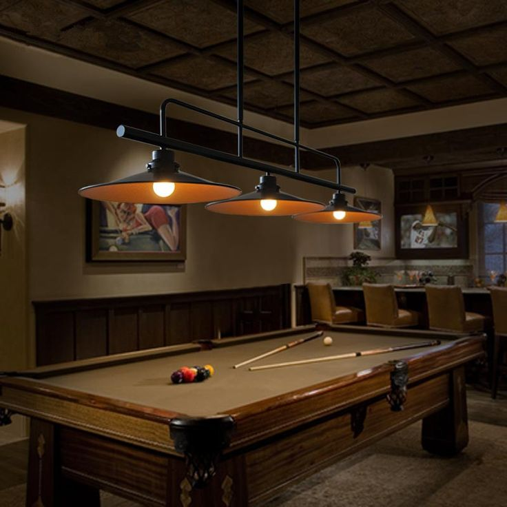 Billiards Light Fixtures