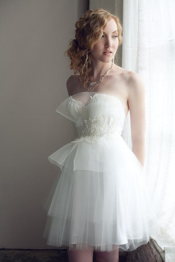 White Dress Sherri Hill 2840