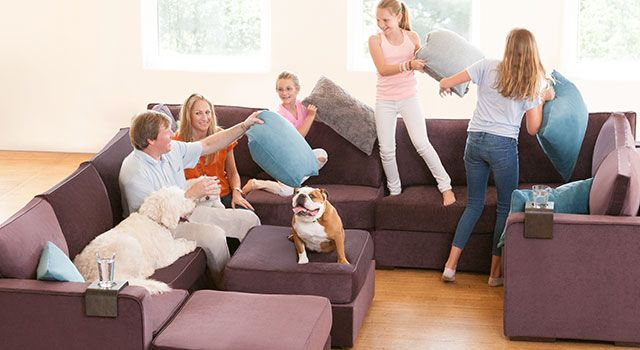 Sectional Small Under Sofa 400