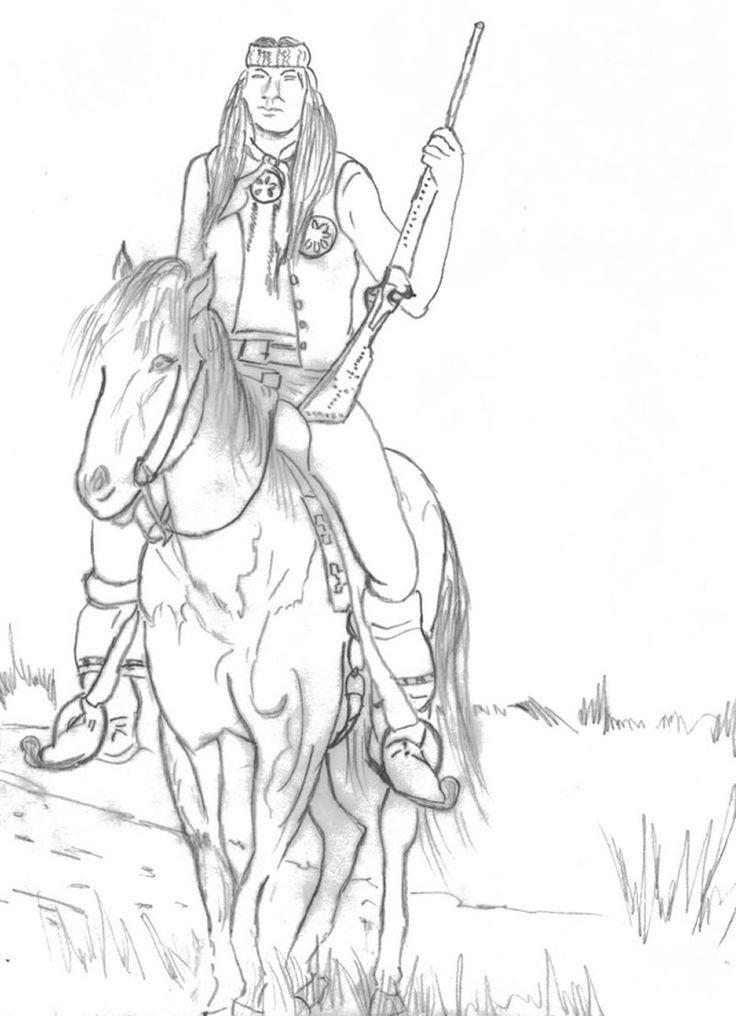 Cowboy Coloring Sheets Boys