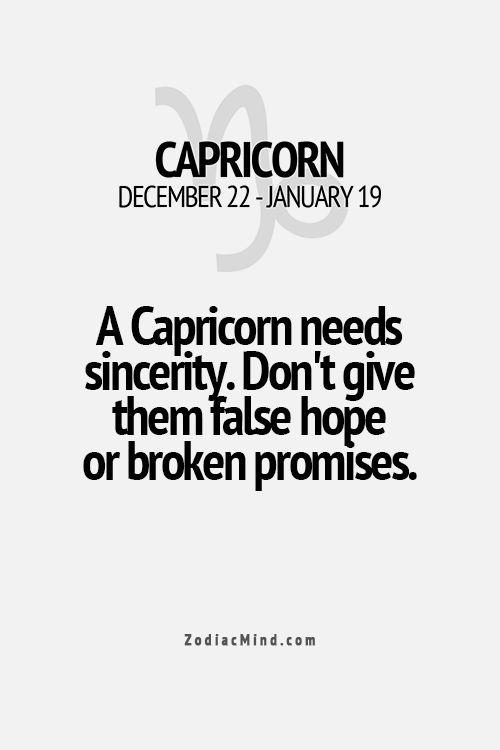 capricorn man needs