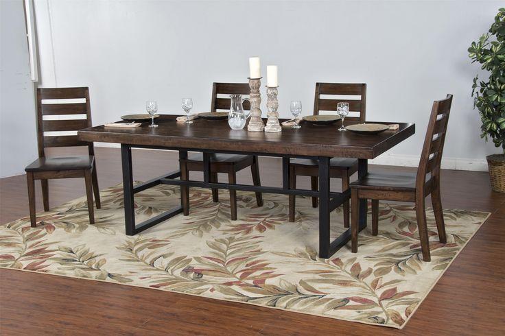 Art Van Dining Room Trestle Tables