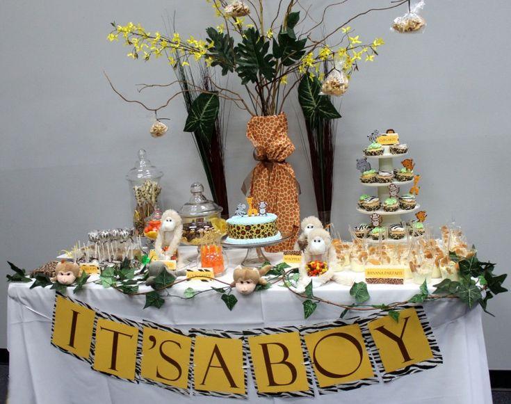 Ideas Shower Boy Safari Baby