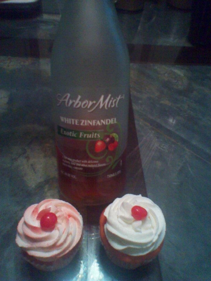 Infused Cupcakes Chocolate Vegan Wine