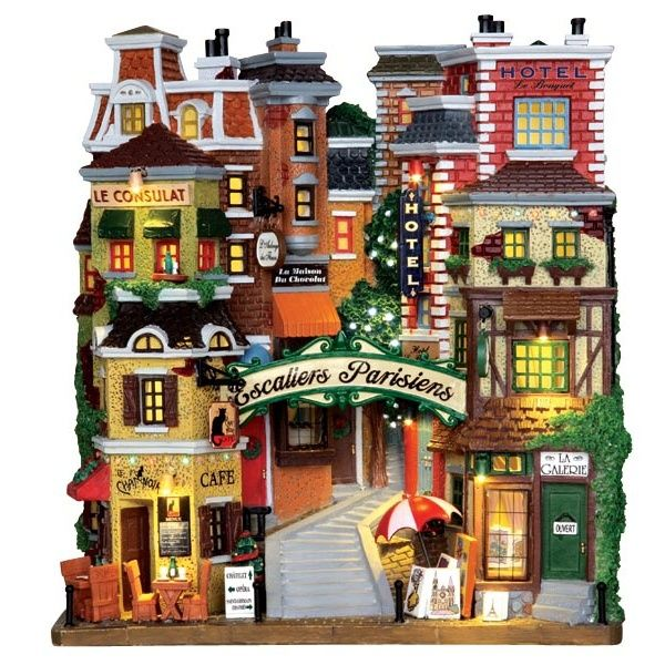 Kinkade Thomas Christmas Accessories Village