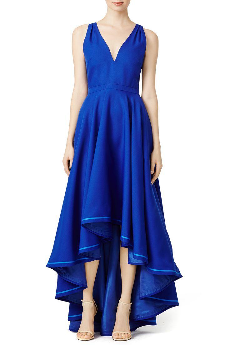 Blue Prom Dress Rent Runway