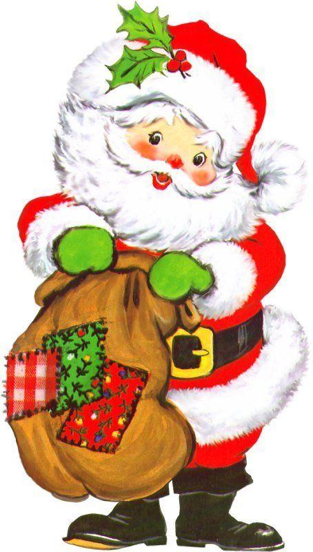 26 Santa Art Dec Clip