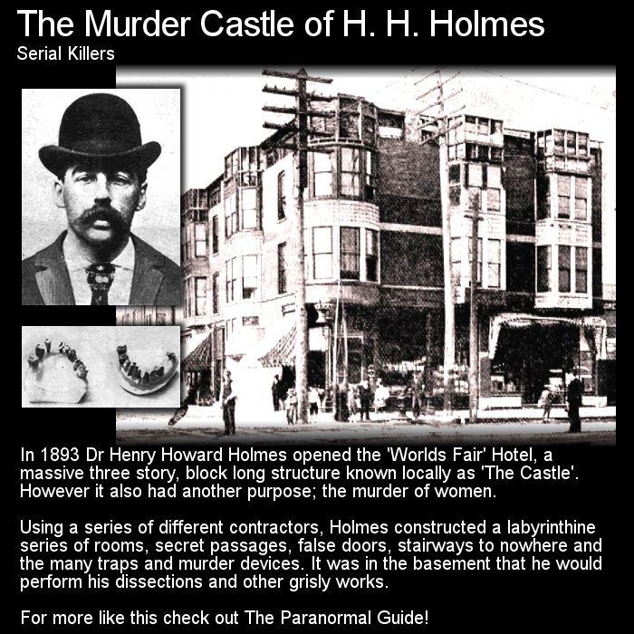 H H Holmes Serial Killer