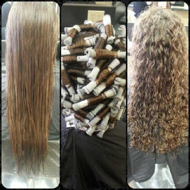 Different Types Perms Long Hair