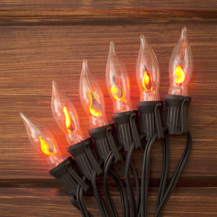Flickering Christmas Light Bulbs