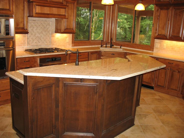 Different Shaped Kitchen Islands