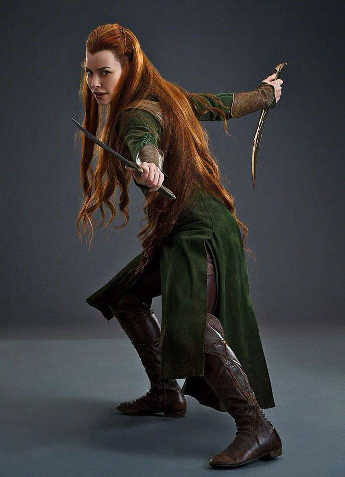 Evangeline Lilly Elf Costumes