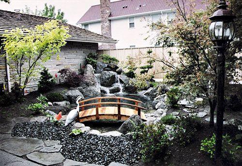 Japanese Koi Pond Design