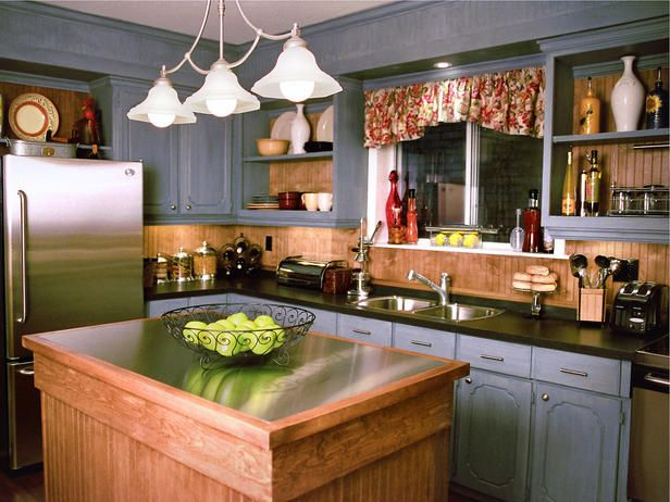 Country Kitchen Island Ideas