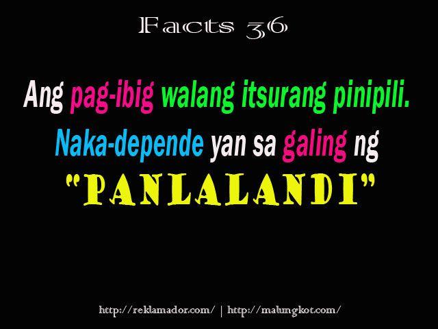 Sa Quotes Malandi Patama
