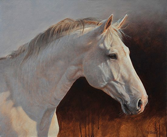 Horses Painting Art Oil