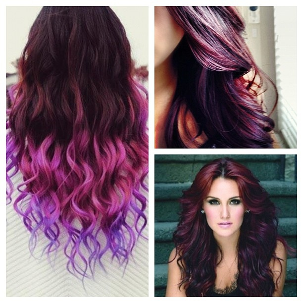 Burgundy and Plum hair color that I want :) | Crazy ...
