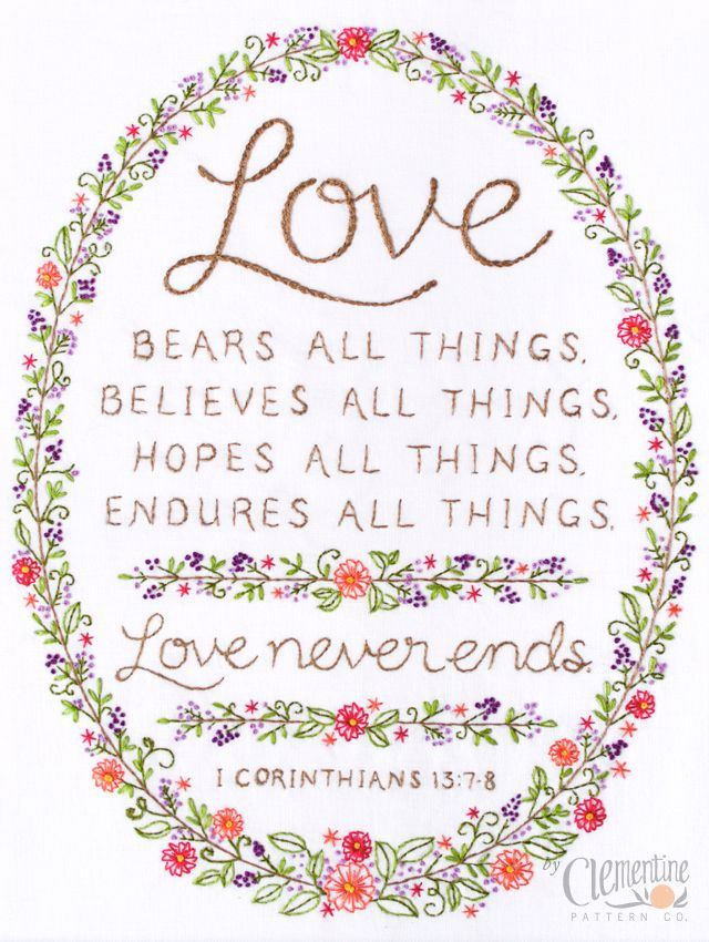 All Never Things Endures Things All Love Things Things Believes Bears Love All Hopes All