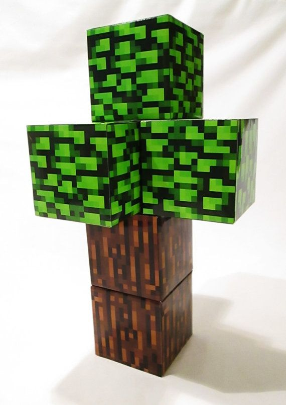 Minecraft Tree Printables