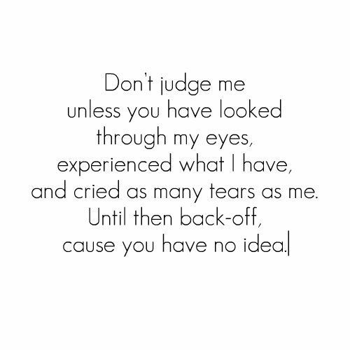 And Won Dont T You Me I Judge Judge Praying