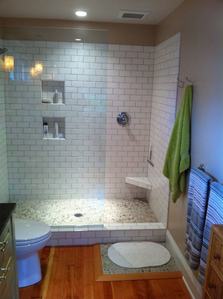 Walk Shower Designs Small Bathrooms