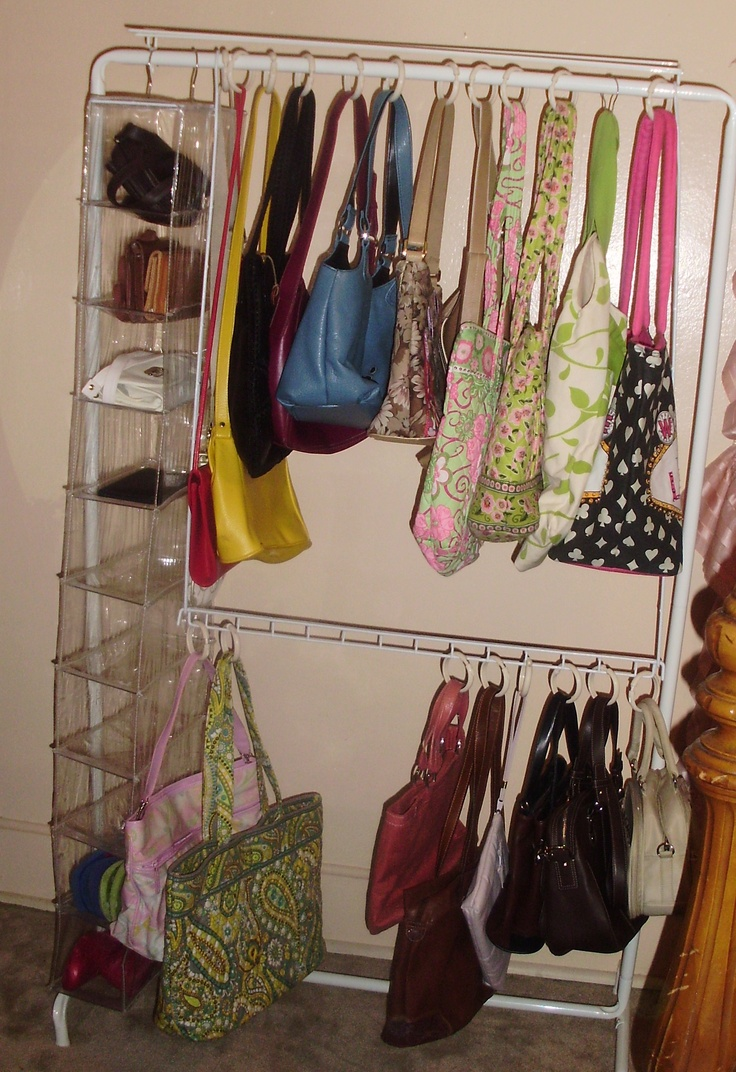 Purses Organize Wall