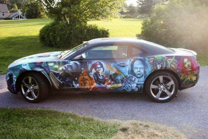 Awesome Camaro Auto Paint Jobs