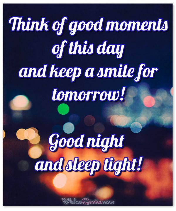 Good Night Quote My Love