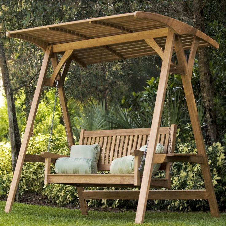Backyard Bench Swing