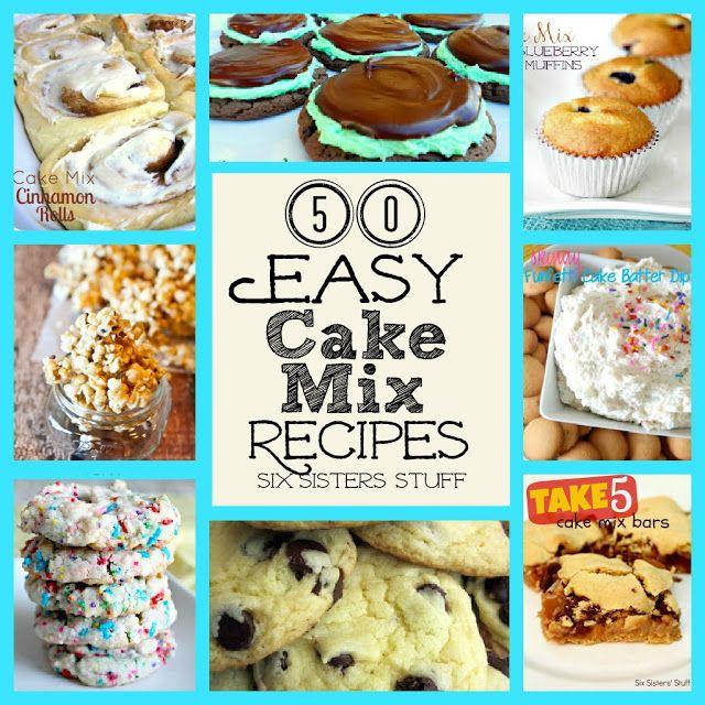 Easy Cake Preparation