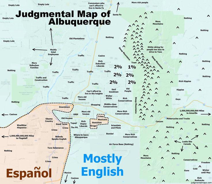 Judgemental Map Denver