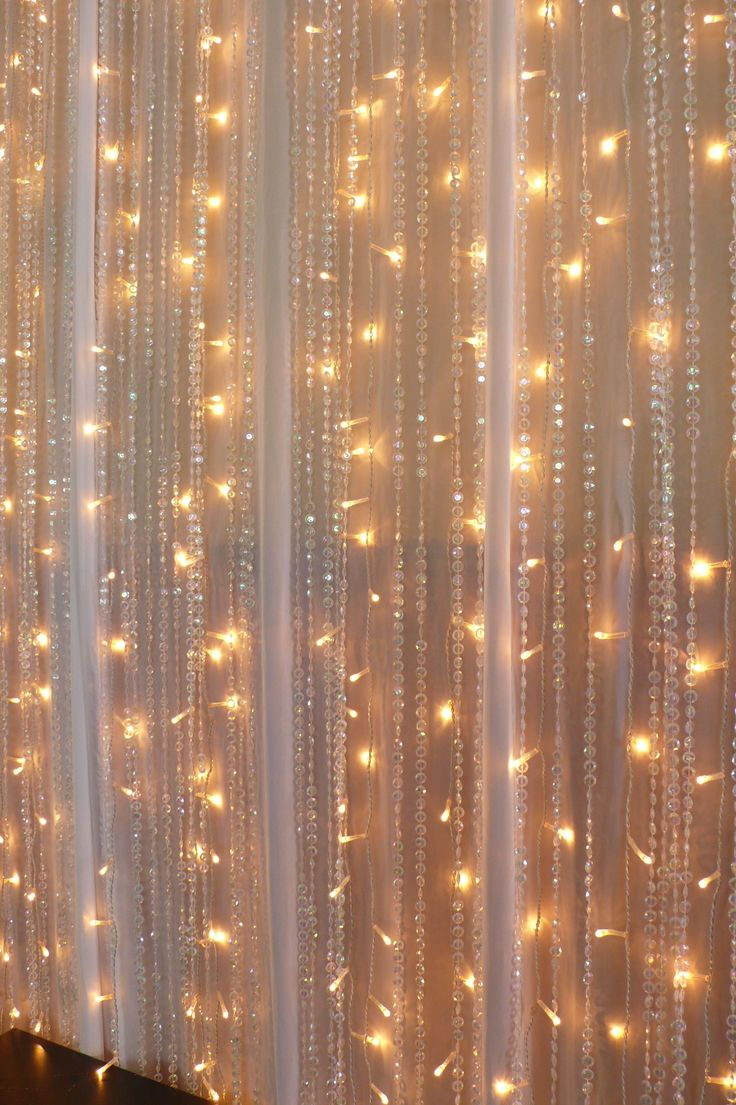 Christmas Lights Curtains